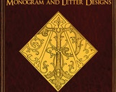 EMBROIDERY MONOGRAM and Letter DESIGNS for Table and Bed Linen Towels etc