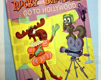 Rocky And Bullwinkle Go To Hollywood, 1961 Whitman Top Top Tale