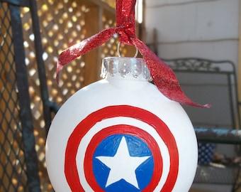 Captain America Ornament -Superhero Ornament