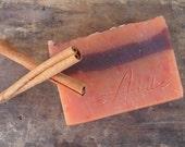 Orange + Spice, All Natural Soap, Cold Process Soap, Handmade Soap, Vegan Soap, Fall Soap, Spice Soap