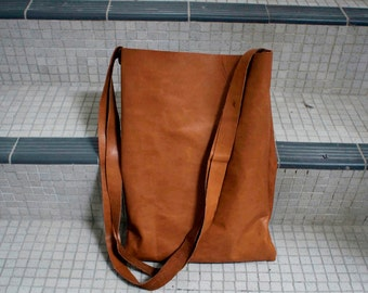 SALE: Brown tote bag
