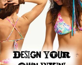 Design your own Sol X Back Triangle Bikini Top