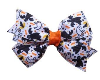 3 inch Halloween hair bow