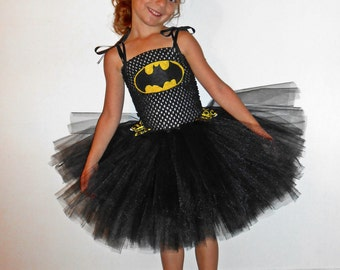 Batgirl Inspired Tutu Dress Costume