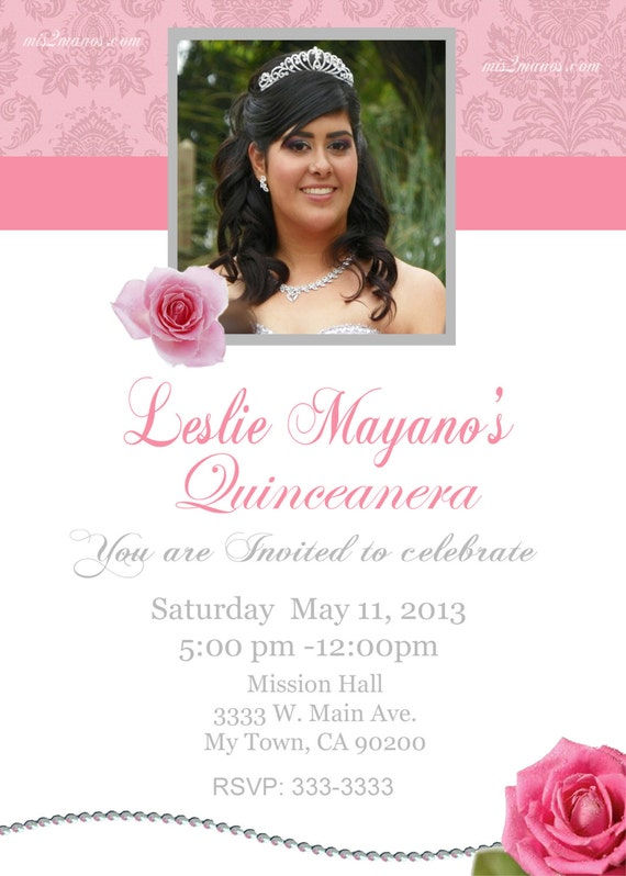 Sweet 15 Invitation is nice invitation ideas