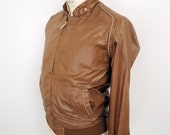 80s Chic Reversible Jacket / vintage Member's Only-style Sears windbreaker / men's small