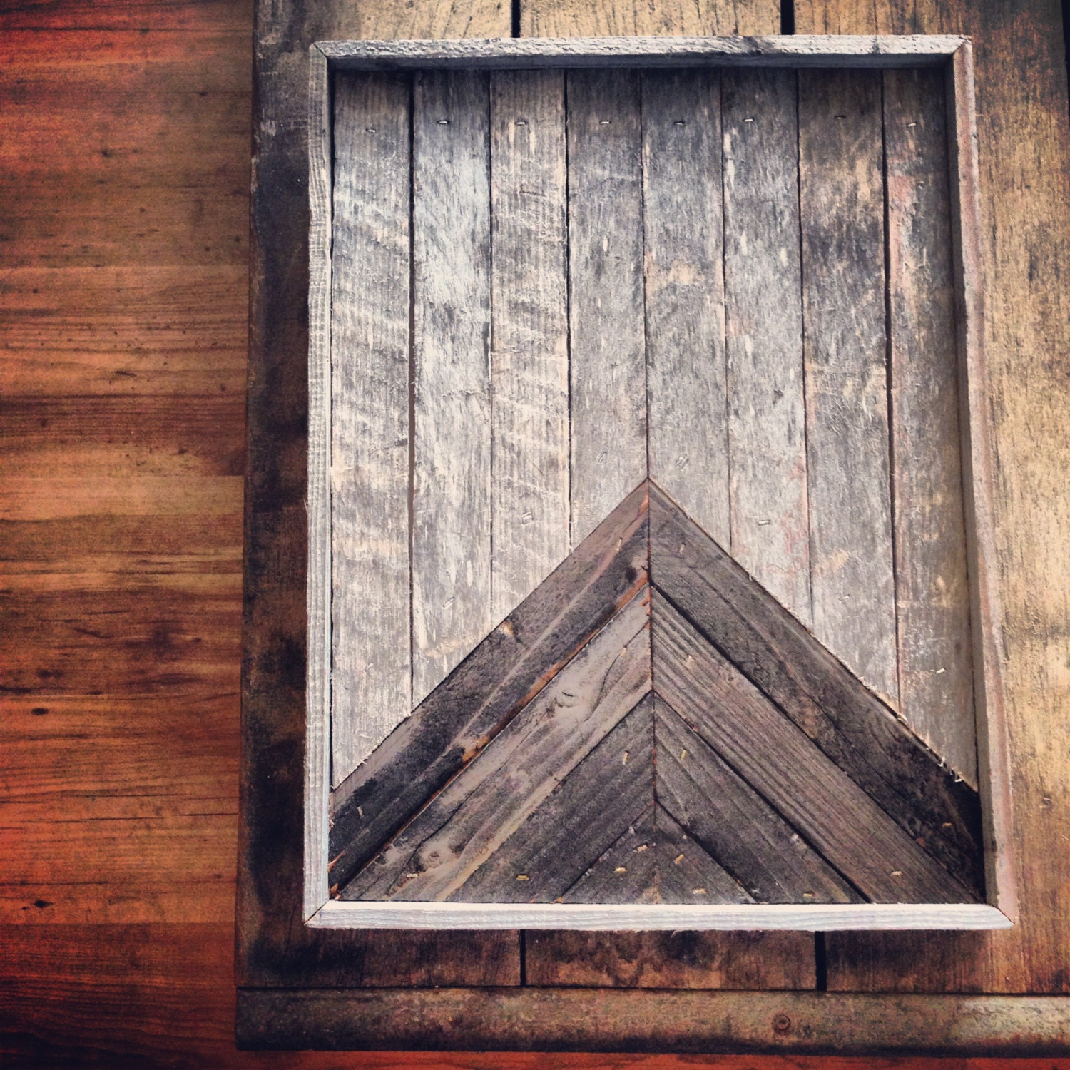 Reclaimed Wood Wall Panel Art