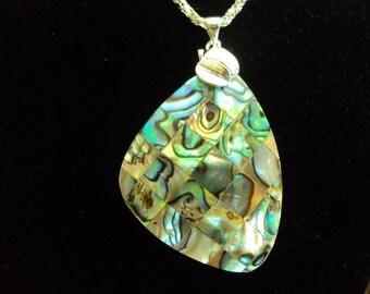 Beautiful Abolone Pendant Necklace