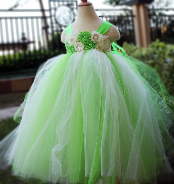 Lime Green Flower Girl Dress Party Dresses By
