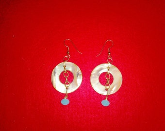 Acrylic Washer Earrings