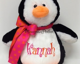 Personalized Plush Stuffed Penguin Soft Toy
