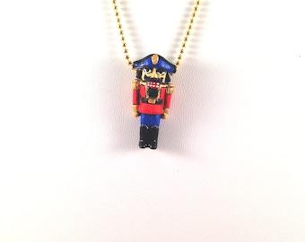 Adorable Nutcracker Necklace
