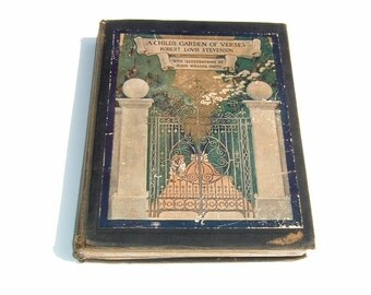 1905 A Child's Garden of Verses by Jessie Willcox Smith & Robert Louis Stevenson Illustrated First Edition