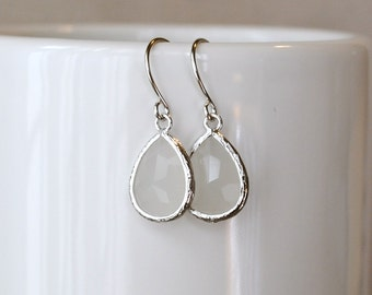 The Meegan Earrings - Opal