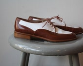 Vintage Lady Wingtip Shoes - Womens Size 7.5