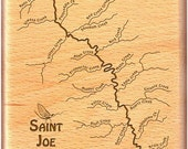 SAINT JOE RIVER Map Fly B...