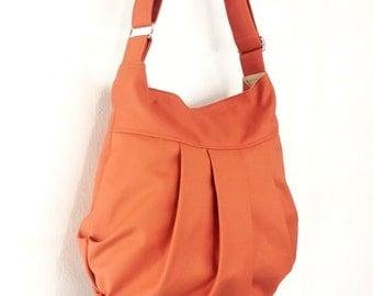 Handbags Cotton bag Canvas Bag Diaper bag Shoulder bag Hobo bag Tote bag Messenger bag Purse Everyday bag Burnt Orange Tracy2