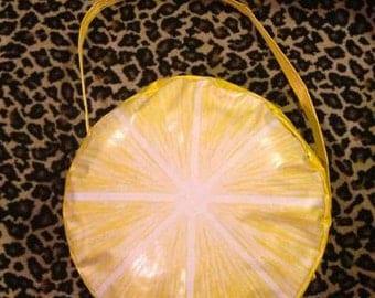 Vintage 1960's Vinyl Purse tote bag