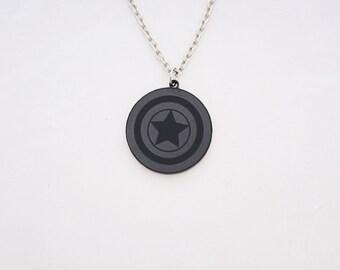 Captain America's Sheild necklace