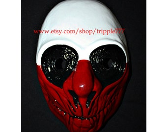 Payday mask, Payday wolf mask, Payday costume, Payday The Heist 2, Halloween mask, Halloween costume, Payday game, Halloween cosplay MA153