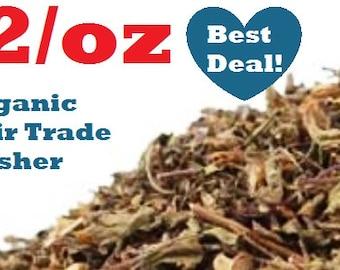 Organic HOLY BASIL KRISHNA Tulsi 1 oz : (Ocimum tenuiflorum) non-gmo, fair trade, kosher