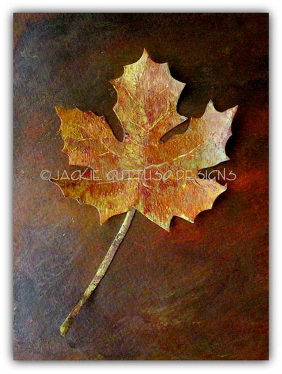 Leaf paper sculpture collage, Original, Maple leaf art, Fall art, Fall home decor, Leaf home decor, Leaf art, Fall leaves