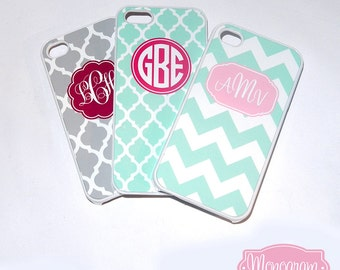 Monogrammed iPhone Cover