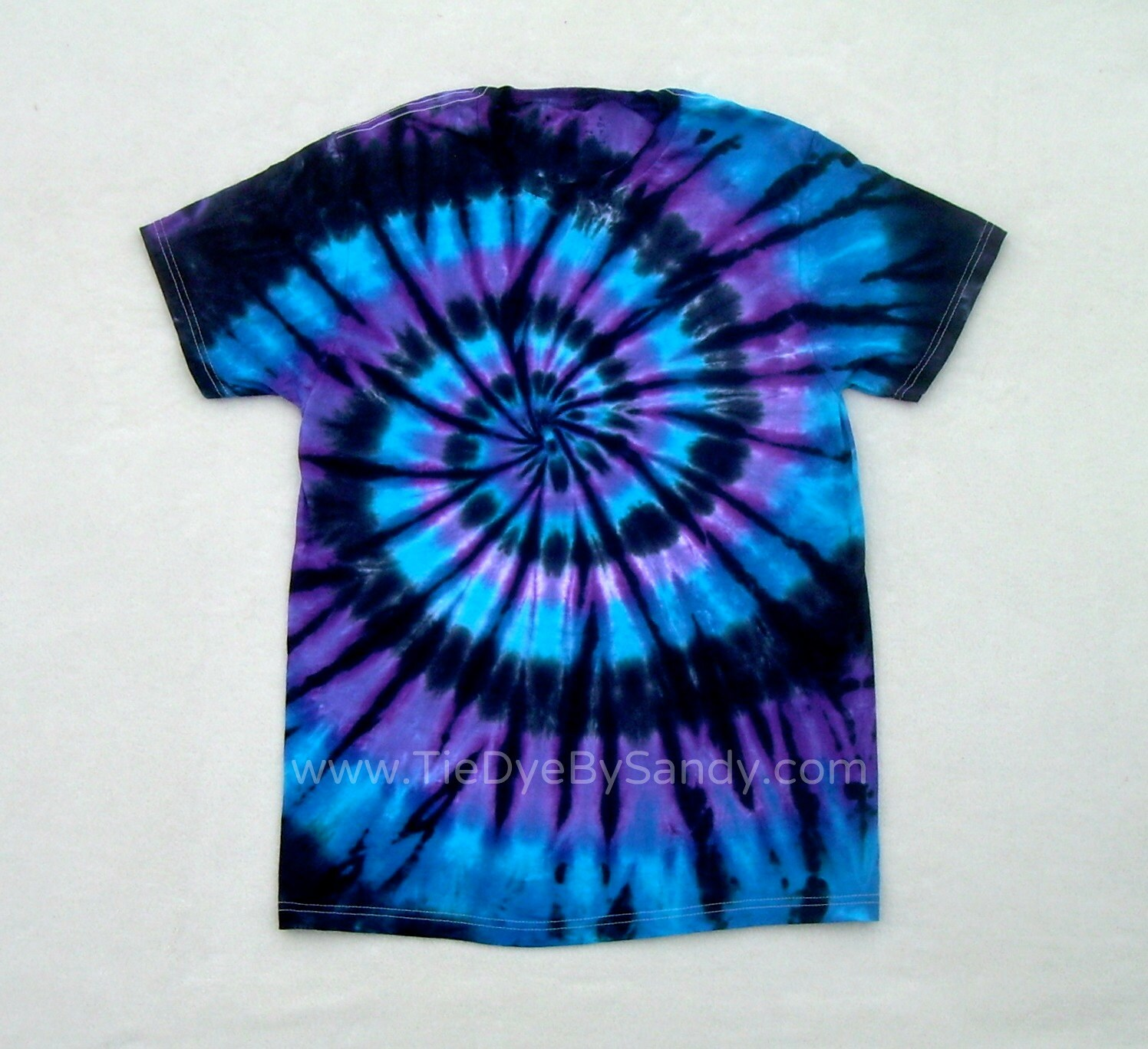 tie dye shirt moon shadow spiral blue purple black. Black Bedroom Furniture Sets. Home Design Ideas