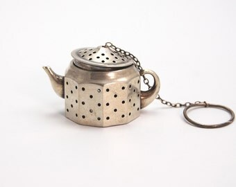 Sterling Silver Tea Infuser Amcraft Vintage