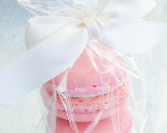 French Macaron Wedding Favor (2) Authentic French Macaroon Cookies