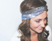 Blue Okda - Galaxy Turban Headband
