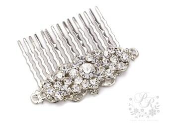 Wedding Hair comb Rhinestone Hair Comb Wedding Jewelry Bridal Decorative Hair Comb Hair Piece Wedding Accessory Bridesmaid Hair Comb meteor