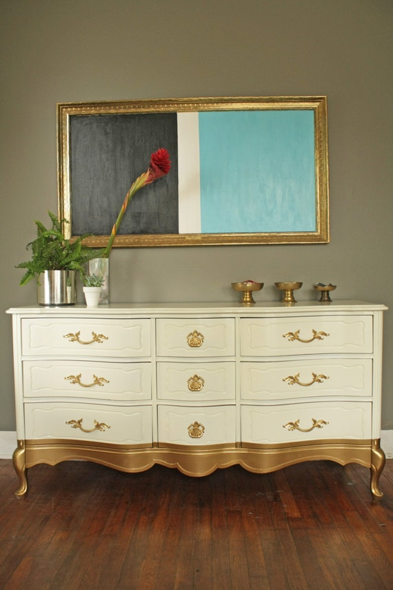 Items Similar To Portfolio Gold Dipped French Provincial