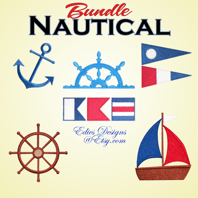 22 awesome nautical embroidery patterns makaroka nautical bundle machine embroidery designs nautical bankloansurffo Gallery