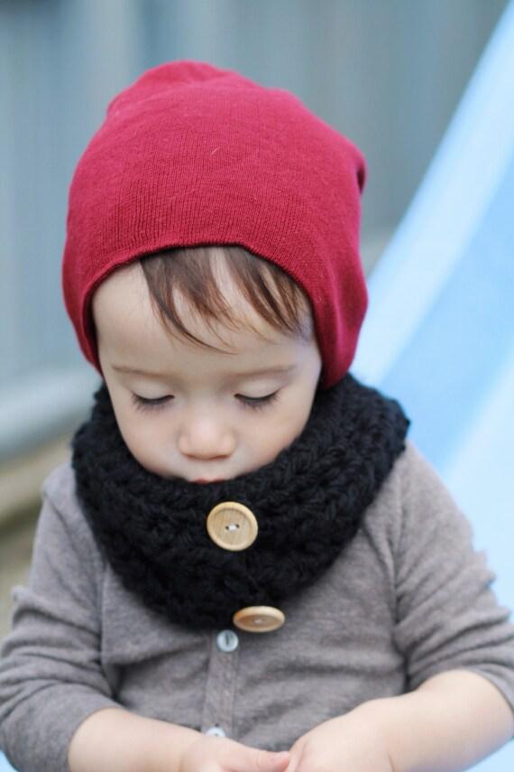 Crochet Cowl. Kids Cowl. Crocheted Neckwarmer. by SweetKiddoCo