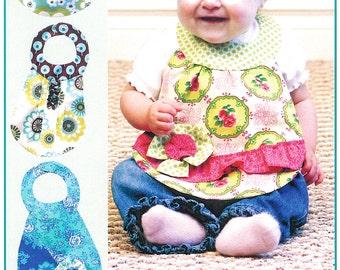 "Pattern ""Diva Babies Beautiful Bibs"" Paper Sewing Pattern by Vanilla House Designs (P181)"