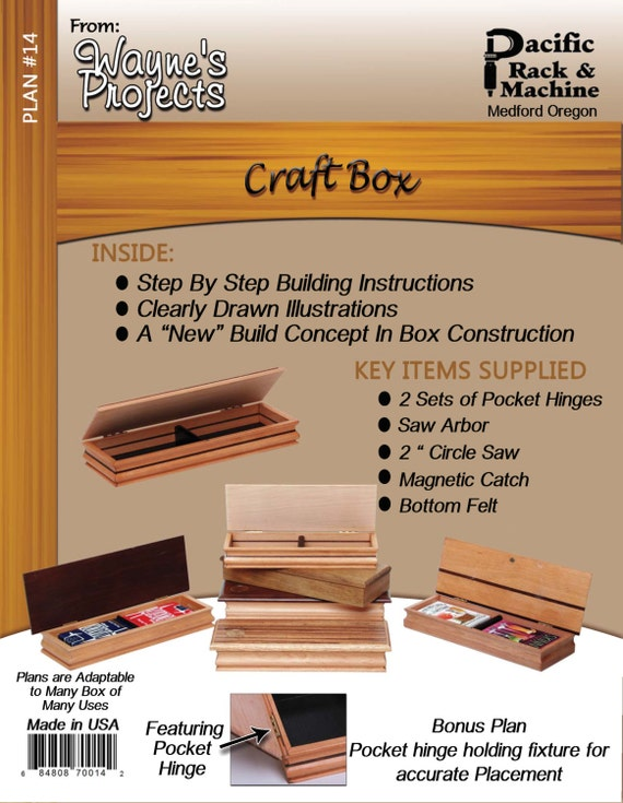 Craft Box Plans