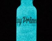 Spectre - Handmade Glow in the Dark Glitter Nail Polish