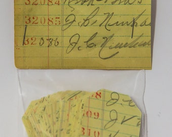 ledger paper punched tags, 100, punched tags, Vintage Paper,ephemera, confetti, tag die cut, paper punchies
