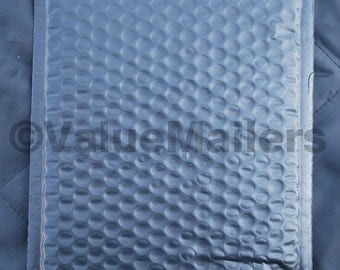 "250 #0 6.5x9.25 Black Poly Bubble Mailers 6.5"" X 9.25"""