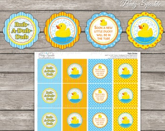 Printable Baby Que Red And Blue Baby Shower Invite