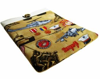 Macbook Pro Case, Macbook Pro Sleeve, 13 inch Macbook Pro Cover, 13 inch Macbook Pro Case, Laptop Sleeve, Marines