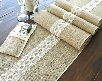 r unner runners   italian Italian runner wedding table with vintage table Burlap  cream table