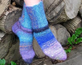 Happy Hiker Socks Knitting Pattern pdf
