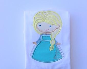 Elsa shirt Frozen shirt Disney Princess Frozen shirt Ice Princess birthday shirt for girls baby girl Elsa clothing Toddler shirt with name