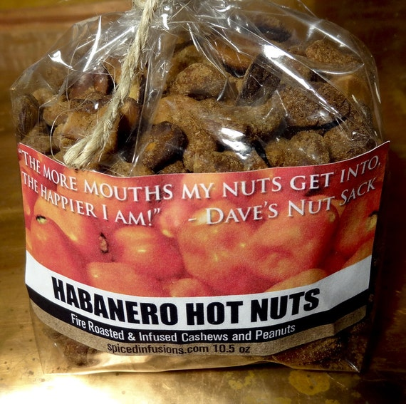 Fire Roasted & Infused Habanero Hot Nuts