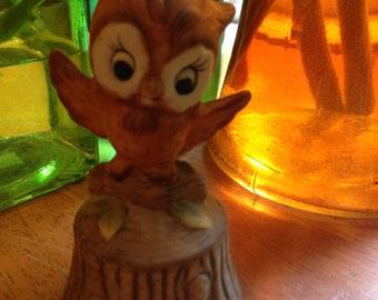 Happy Little Flying Owl Bell