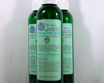 Calming Dog Spray - Dog Stress & Anxiety Spray - Hippy Housepets - Eco-Friendly Packaging