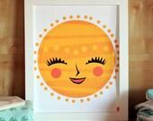 My Sunshine - Modern Nursery Art Print - Kids Wall Art - Nursery Decor - Baby Shower - Modern Art - Gender Neutral