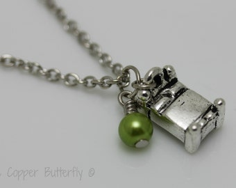 The Princess & The Pea - Fairytale Collection Necklace- Hans Christian Andersen 1835 - 6140106